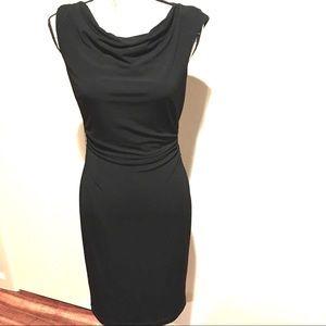 David Meister Black Cocktail Dress